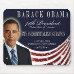Recuerdo 2013 de la inauguración de Obama Mousepad Alfombrillas De Ratones