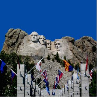 Recuerdo adaptable de la foto del monte Rushmore Imán Fotoescultura