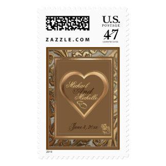 Recuerdo adaptable que casa franqueo adornado del timbre postal
