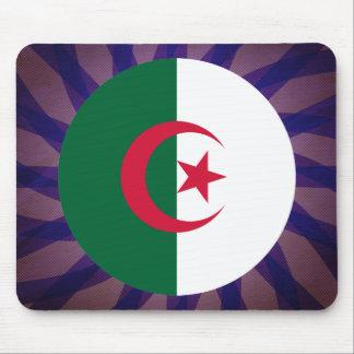 Recuerdo argelino de la bandera alfombrilla de ratones