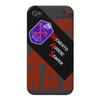 RECUERDO AUDERE SEMPER iPhone 4 FUNDAS
