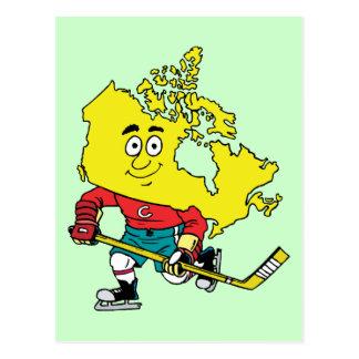 Recuerdo canadiense del viaje del vintage del postales