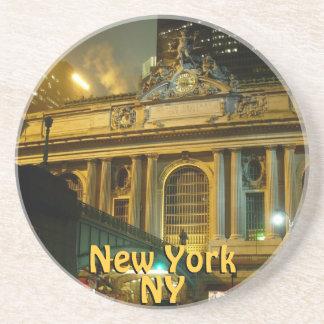 Recuerdo central magnífico de la estación NY del p Posavasos Manualidades
