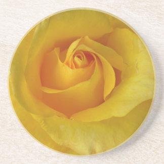 Recuerdo color de rosa soleado DEC de los regalos  Posavasos Diseño