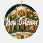 Recuerdo conmemorativo de New Orleans Ornamento Para Arbol De Navidad