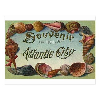 Recuerdo de Atlantic City Postal