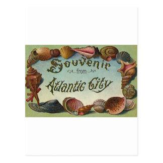 Recuerdo de Atlantic City Postales