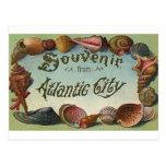 Recuerdo de Atlantic City Tarjeta Postal