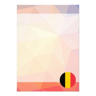 "Recuerdo de Bélgica Invitación 5"" X 7"""