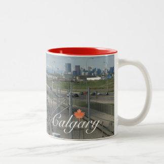 Recuerdo de Calgary Canadá Tazas De Café