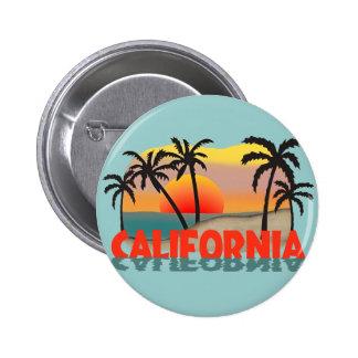 Recuerdo de California Pin Redondo De 2 Pulgadas