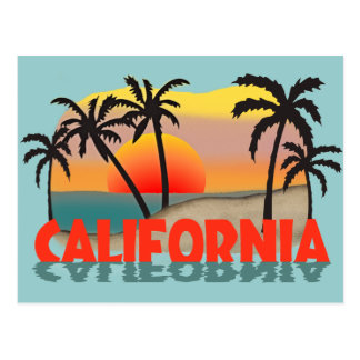 Recuerdo de California Postal