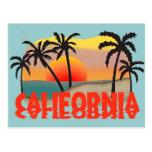Recuerdo de California Postales