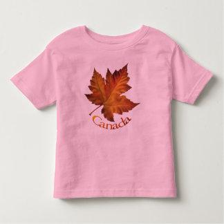 Recuerdo de Canadá de la camiseta del niño de la Camisas