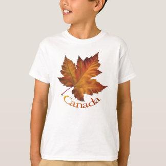 Recuerdo de Canadá de la camiseta del niño de la Remeras