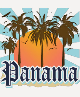 Recuerdo de ciudad de Panamá T Shirts