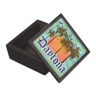 Recuerdo de Daytona Beach la Florida Cajas De Recuerdo De Calidad