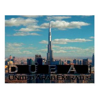 Recuerdo de Dubai UAE Postal