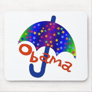Recuerdo de Inaguration del paraguas de Obama Alfombrillas De Ratones