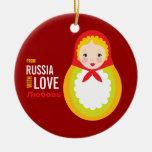 Recuerdo de la adopción de Matryoshka From Russia  Adorno De Reyes
