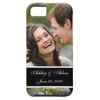 Recuerdo de la foto del boda iPhone 5 funda