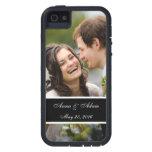 Recuerdo de la foto del boda iPhone 5 fundas