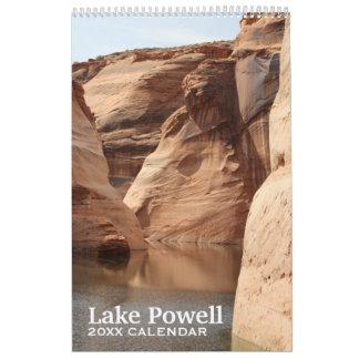 Recuerdo de la fotografía del viaje de Powell del Calendarios