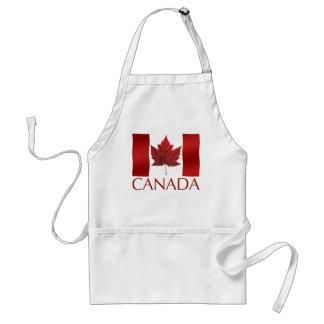 Recuerdo de la hoja de arce de Canadá del delantal