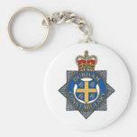Recuerdo de la policía de Durham Llaveros Personalizados