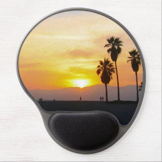 Recuerdo de la puesta del sol de California de la Alfombrilla Con Gel