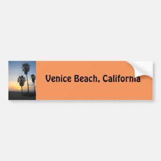 Recuerdo de la puesta del sol de California de la Pegatina Para Coche