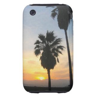 Recuerdo de la puesta del sol de California de la iPhone 3 Tough Protectores