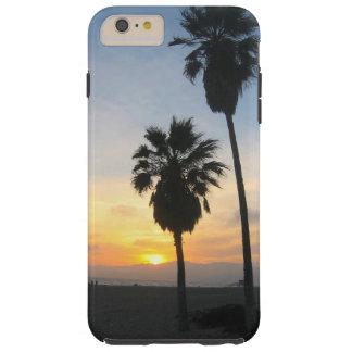 Recuerdo de la puesta del sol de California de la Funda Para iPhone 6 Plus Tough