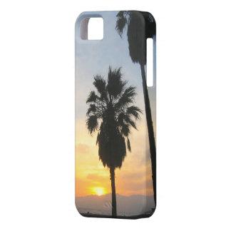Recuerdo de la puesta del sol de California de la iPhone 5 Case-Mate Protectores