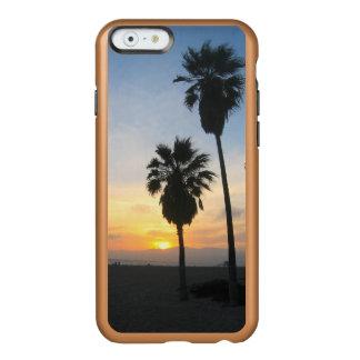 Recuerdo de la puesta del sol de California de la Funda Para iPhone 6 Plus Incipio Feather Shine