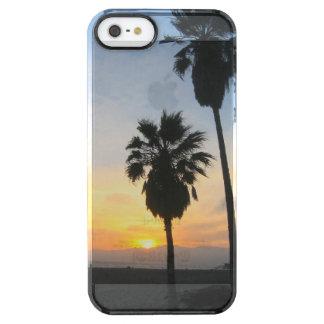 Recuerdo de la puesta del sol de California de la