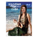 RECUERDO DE LA SIRENA DE CUBA POSTALES