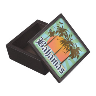 Recuerdo de las islas caribeñas de Bahamas Caja De Regalo De Calidad