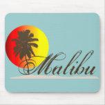 Recuerdo de Malibu California Alfombrillas De Ratones