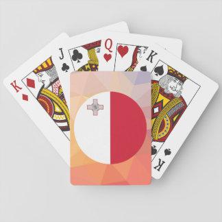 Recuerdo de Malta Cartas De Póquer