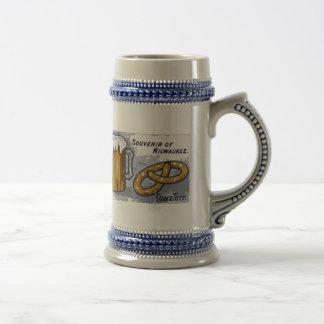 Recuerdo de Milwaukee, de la cerveza y de los pret Jarra De Cerveza