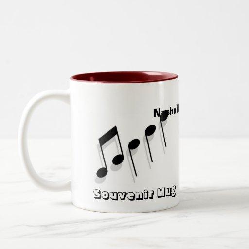 Recuerdo de Nashville Taza De Café