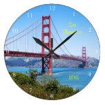 Recuerdo de San Francisco Relojes De Pared