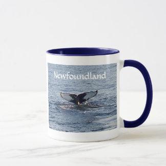 Recuerdo de Terranova - cola de la ballena Taza