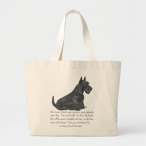 Recuerdo de Terrier del escocés - perro MASCULINO Bolsas
