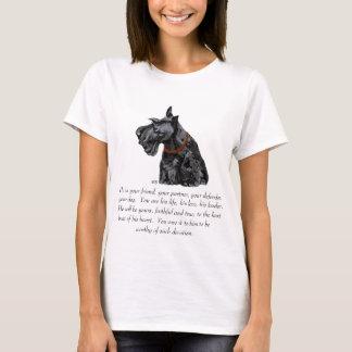 Recuerdo de Terrier del escocés - perro MASCULINO Playera