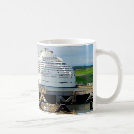 Recuerdo del Canal de Panamá Taza