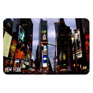 Recuerdo del cuadrado NY del tiempo de la ciudad Iman De Vinilo