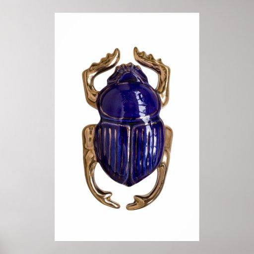Recuerdo del escarabajo póster