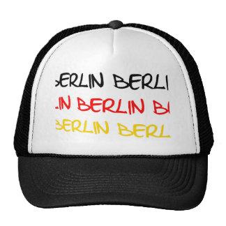 Recuerdo del logotipo de Berlín, Alemania Gorras De Camionero